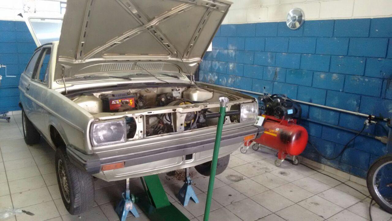 Projeto Restauração Gol BX 83 Coffee Motors